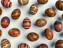Пасхальные яйца. иллюстрация вектора