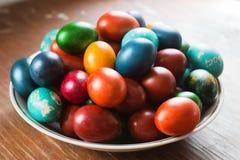 Пасхальные яйца Стоковые Фотографии RF