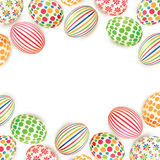 Пасхальные яйца Стоковое Изображение RF
