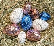 пасхальные яйца 9 стоковое изображение