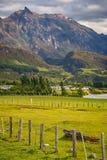 Патагонская ферма в Чили Стоковые Фото