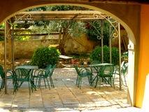 Патио дома Стоковая Фотография RF
