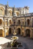 Патио замка Tomar Стоковая Фотография RF