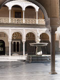 Патио Касы de Pilatos, Севил Стоковое Изображение