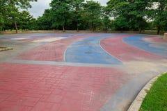 Патио кирпича Стоковые Изображения RF