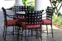патио мебели Стоковые Изображения