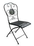 патио стула богато украшенный Стоковое Изображение RF