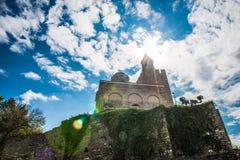 Патриархальный собор святого восхождения бога в Tsarevets стоковые фотографии rf