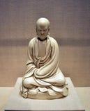 Патриарх Bodhidharma Chan, китайские искусства будизма Стоковое Изображение