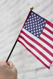 Патриотизм американских флагов Стоковая Фотография