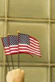 Патриотизм американских флагов Стоковые Изображения