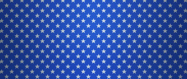 Патриотическая предпосылка США с звездами Стоковое Фото