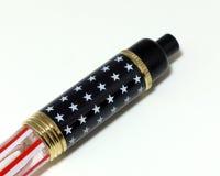 Патриотическая ручка Стоковое Изображение