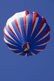 Патриотические красные белые и голубые горячие воздушные шары Стоковое Изображение