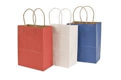 Патриотические хозяйственные сумки Стоковое Изображение RF