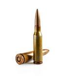 2 патрона винтовки Стоковое Фото