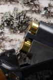 2 патрона сражения вставляют из бочонка винтовки звероловства Стоковые Фото
