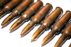 Патронная лента винтовки Стоковые Изображения
