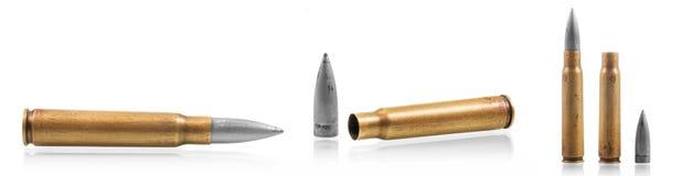 Патроны пули автомата Калашниковаа 47 Стоковое Изображение RF