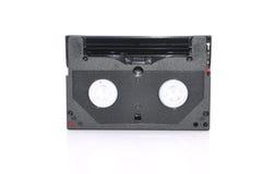 патрон данным по резервной копии ленты компьютера 8mm над белой предпосылкой Стоковые Фото