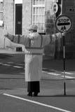 Патрульный офицер скрещивания школы Стоковое Изображение RF
