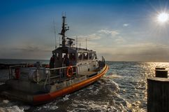 Патруль службы береговой охраны Стоковые Фото