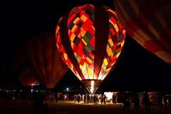 Патруль рассвета на большой гонке воздушного шара Reno стоковые фото