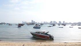 Паттайя: Залив Maleehay Таиланд Стоковое Изображение RF
