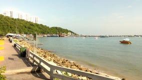 Паттайя: Залив Maleehay Таиланд Стоковые Изображения RF