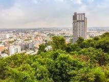 Паттайя, Таиланд - 21-ое января 2016: Новые здания highrise Стоковое Изображение RF