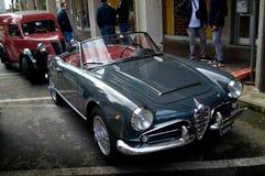 Паук Romeo Giulietta альфы на Ла Mille Miglia 2016 Aspettando Стоковые Изображения