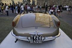 Паук 1955 Romeo Giulietta альфы Стоковые Фото