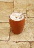 Пахта питья лета Idian сделанная от творога стоковая фотография rf