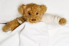 пациент кровати Стоковые Фотографии RF