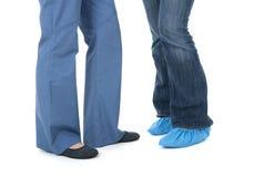 пациент нюни ног Стоковые Изображения RF