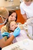 пациент дантиста маленький Стоковые Изображения RF