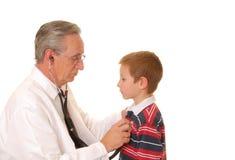 пациент 3 докторов Стоковое Изображение RF