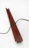 Пачка деревянных палочек Стоковое фото RF