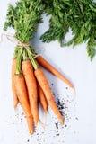 Пачка морковей Стоковые Изображения