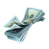 Пачка долларов Стоковое фото RF