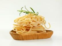 Пачки макаронных изделий спагетти Стоковое фото RF