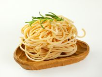 Пачки макаронных изделий спагетти Стоковая Фотография RF