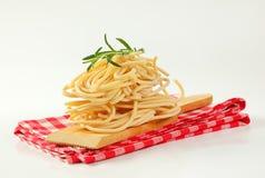 Пачки макаронных изделий спагетти Стоковые Фото