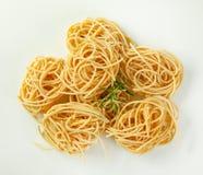 Пачки макаронных изделий спагетти Стоковое Фото