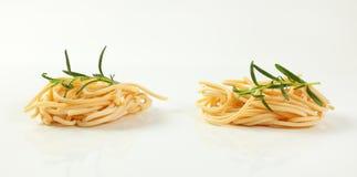 Пачки макаронных изделий спагетти Стоковая Фотография