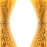 2 пачки спагетти Стоковая Фотография