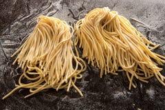 2 пачки спагетти Стоковое Фото
