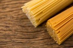 Пачки сырцовых спагетти Стоковое Изображение RF