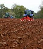 паша тракторы Стоковая Фотография