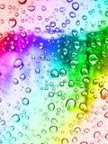 падает стеклянный дождь Стоковые Фотографии RF